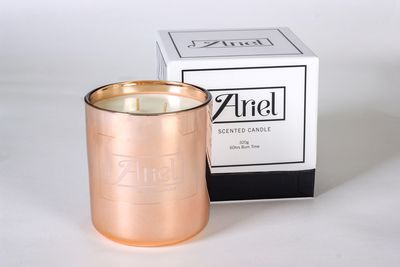 "<a href=""http://arielsworld.com.au/"" target=""_blank"">Ariel's World Secret Garden Candle, $50.</a>"