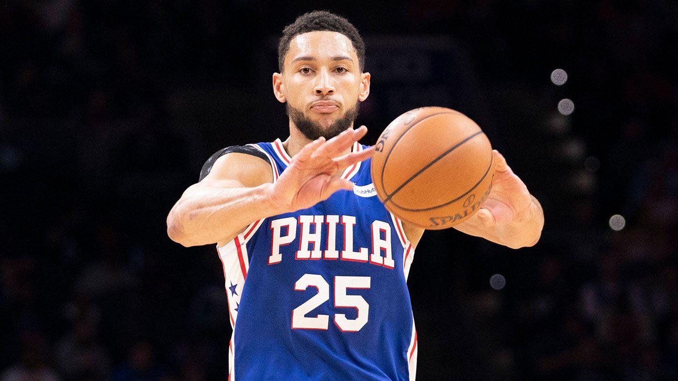 Ben Simmons knocks down first NBA career 3-pointer