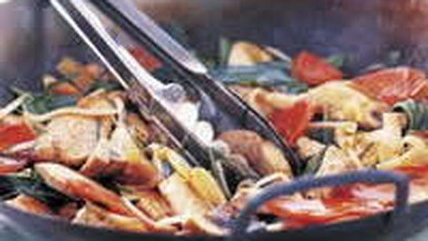 Chicken and Thai Basil Stir-Fry