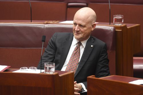 Senator Leyonhjelm has refused to apologise for his comments made in the Senate last week. Picture: AAP
