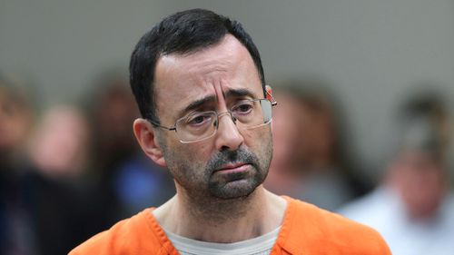 Dr Larry Nassar appears in court for a plea hearing in Lansing, Michigan on November 22, 2017. Picture: AP