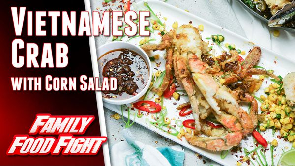 The Giles' Vietnamese Crab with Corn Salad recipe