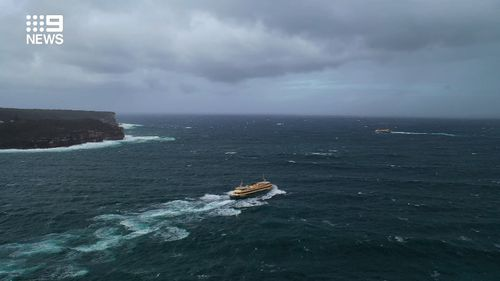 The NSW coast has been thrashed with heavy rain and wind gusts of more than 100km/h.