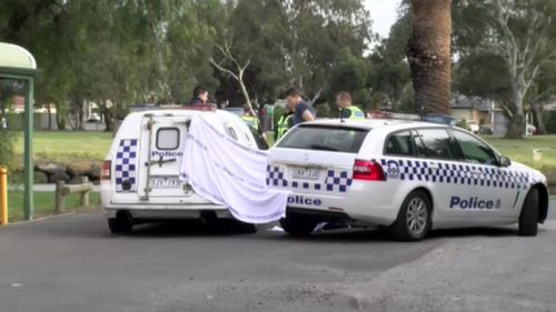 Police were called to Fairbairn Park in Ascot Vale, northwest of the Melbourne CBD, this morning following reports a body had been found in water. (9NEWS)