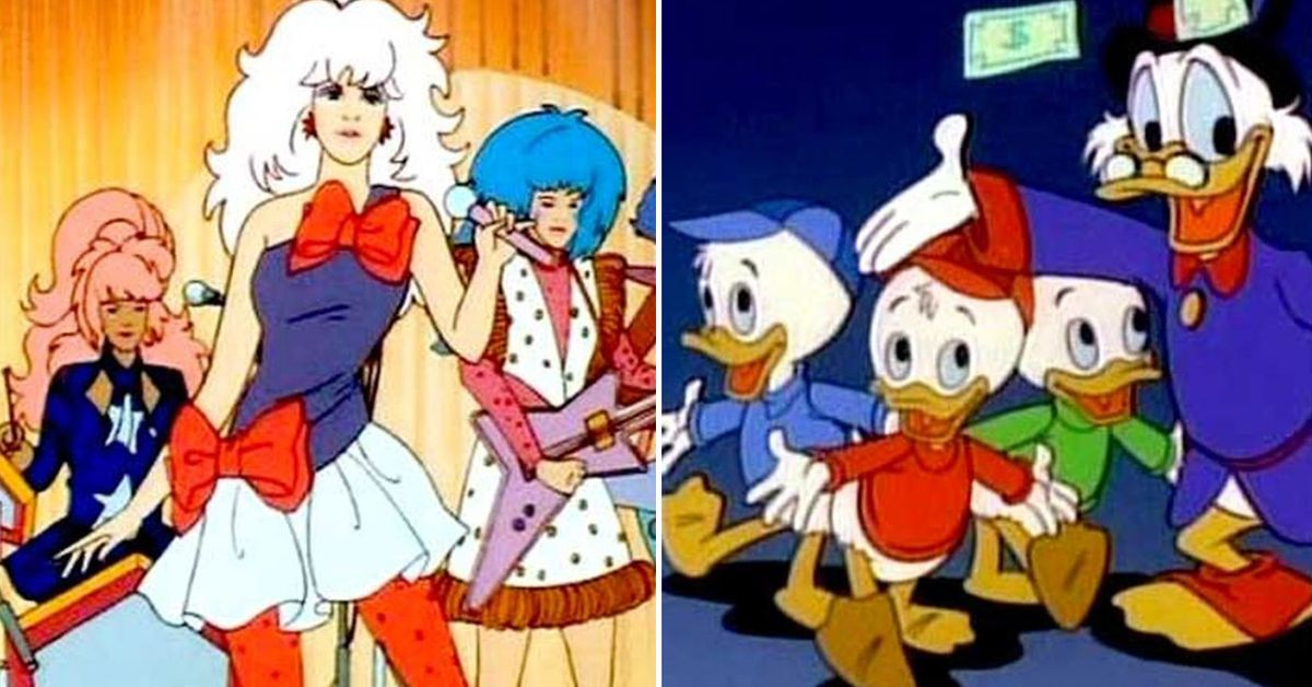 Top 20 Cartoons From The 80s Ducktales Superted Care Bears And More