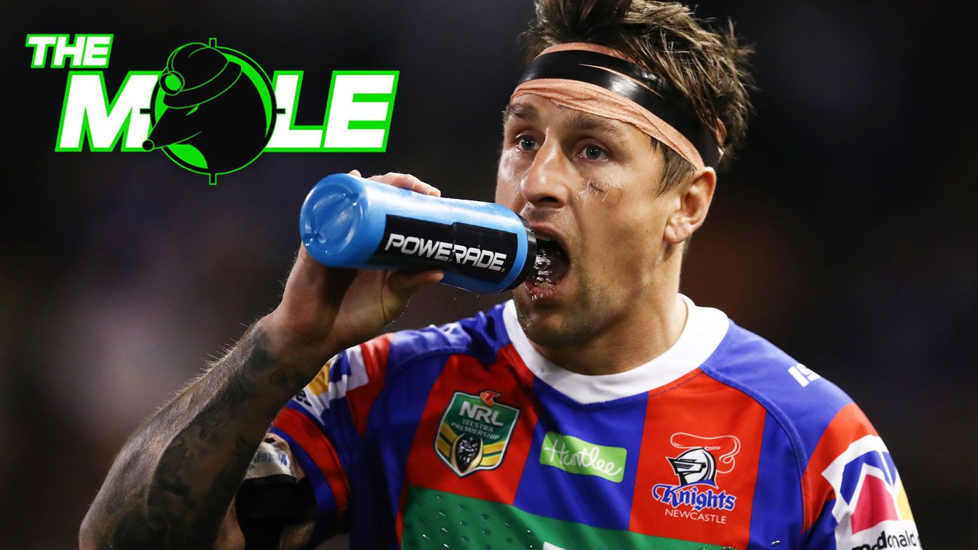 Newcastle Knights chase England Test star as Mitchell Pearce's new halves partner