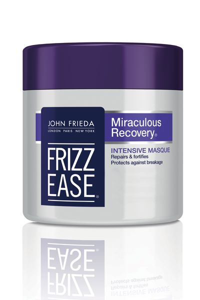 To fight frizzy and unruly locks