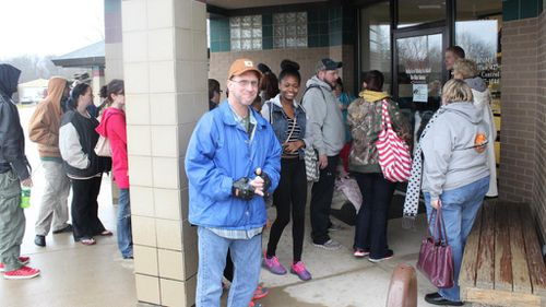 Locals turned out for the Black Friday sale. (Facebook / Fort Wayne Animal Care and Control)