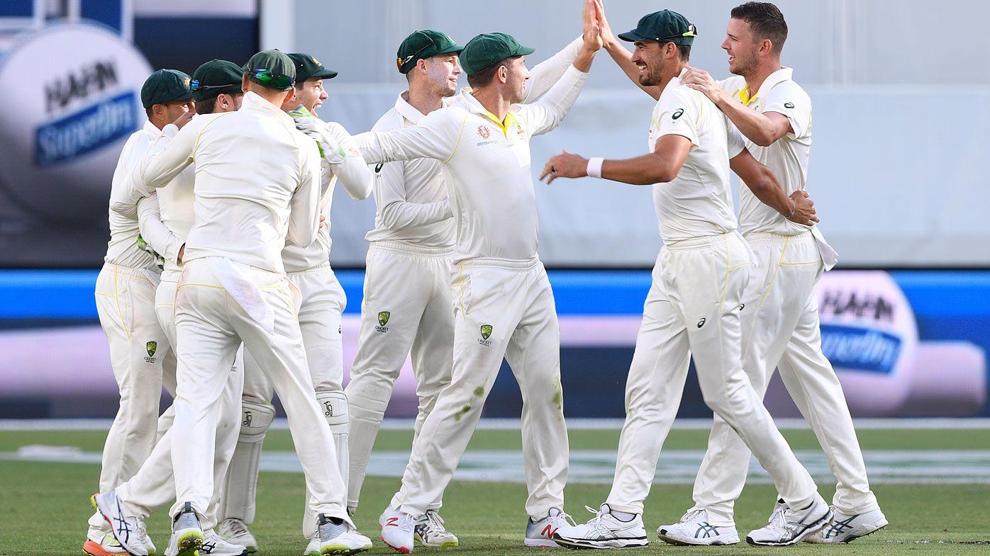 Australia poised for Test victory
