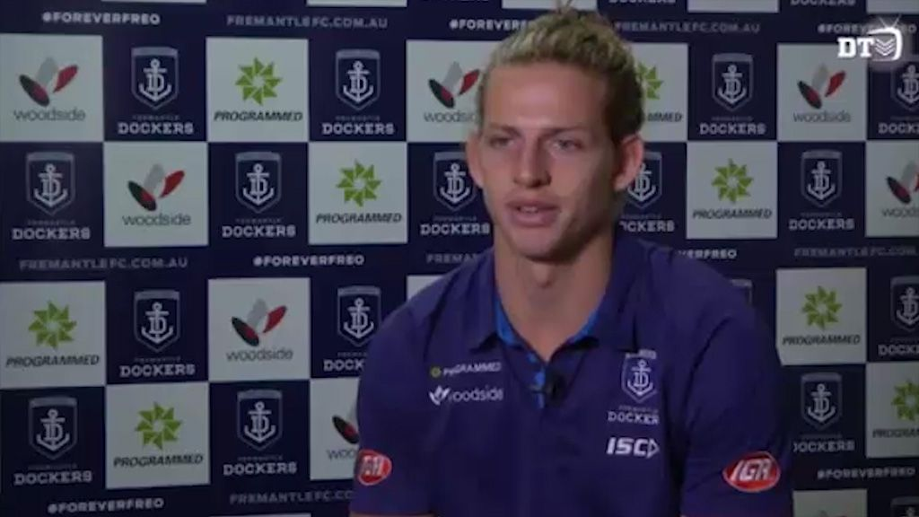 Fyfe grateful to be Docker for life