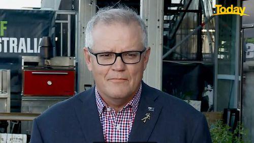 Perdana Menteri Scott Morrison membela larangan India pada Hari Ini.