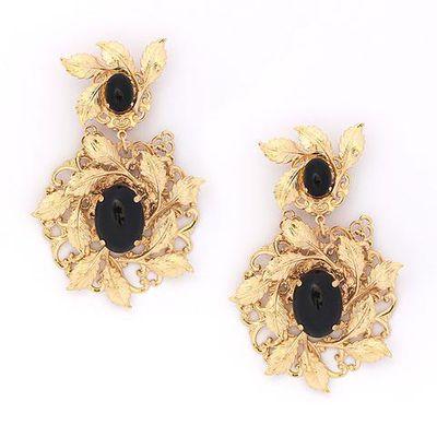 """<a href=""""http://chelsea-de-luca-jewellery.myshopify.com/collections/earrings"""" target=""""_blank"""">Chelsea de Luca</a> Carmen earrings, $300<br />"""