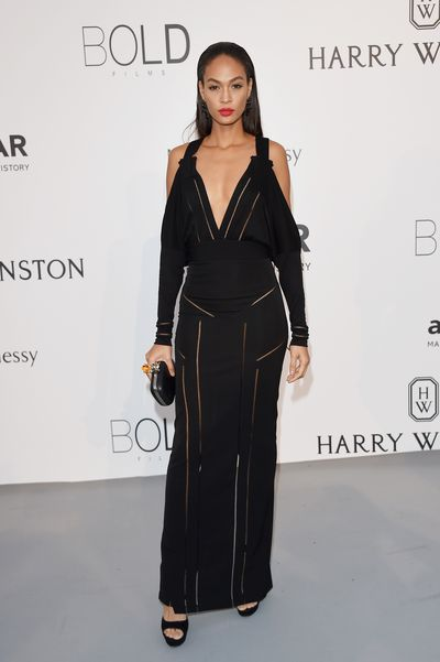 <p>Joan Smalls in Givenchy</p>