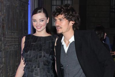 Model Miranda Kerr and Actor Orlando Bloom married in July. The couple, who have been dating since 2007, are expecting their first child next year.