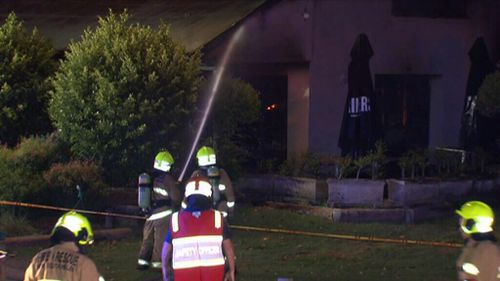 Police are investigating whether the fire may be suspicious. (9NEWS)