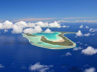 Tahiti's heart-shaped island, Tupai
