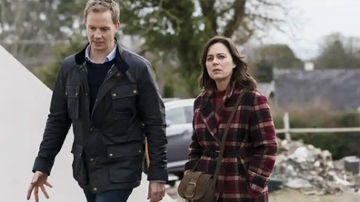 Jill Halfpenny and Rupert Penry-Jones in 'The Drowning'.