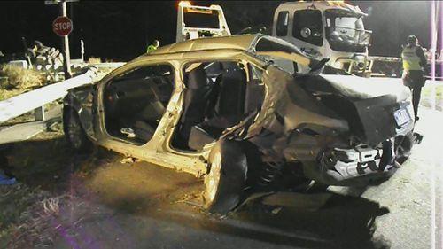 Woman dies in horrific car crash in Melbourne's south