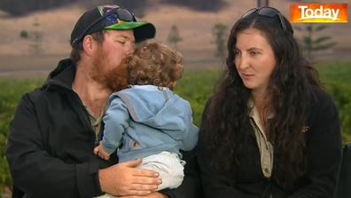 Sam and Dana Mitchell have been saving injured wildlife.