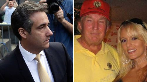 Donald Trump earlier this year acknowledged he reimbursed Cohen for payments he made in late 2016 to Stormy Daniels, an adult-film actress.