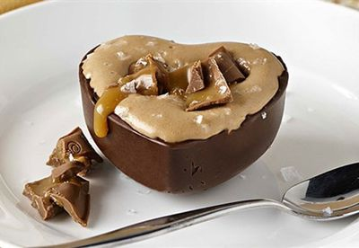 Salted caramello mousse