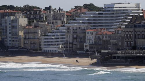 Biarritz,southwestern France.