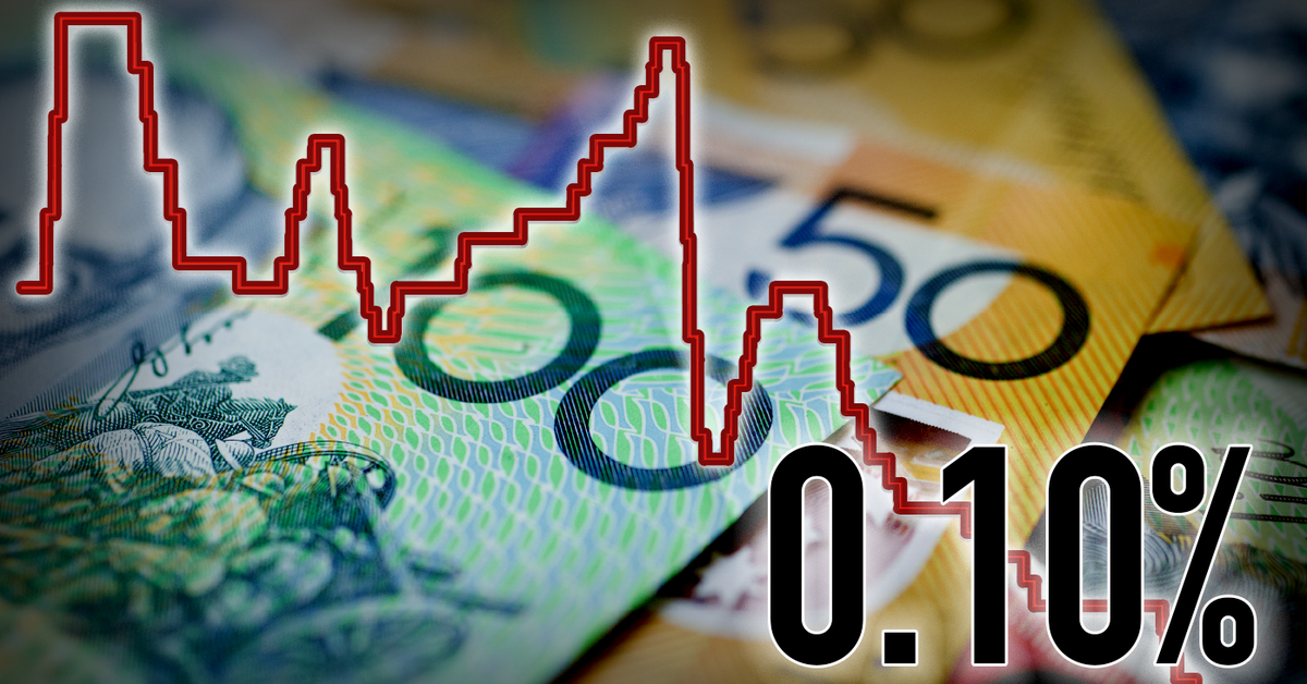 Australia's interest rates slashed to history-making 0.10 per cent – 9News