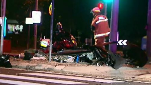 Police are investigating whether excessive speed was involved. (9NEWS)