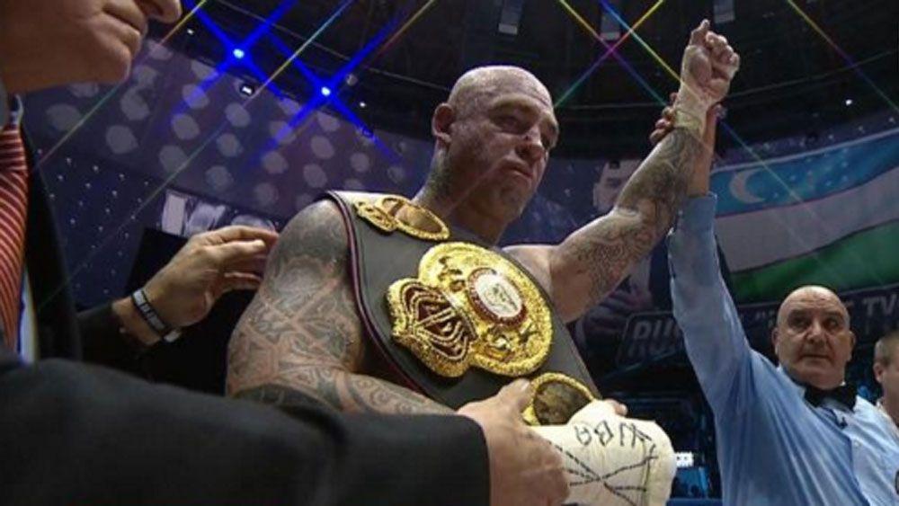 Browne wins heavyweight boxing world title