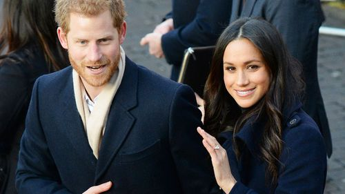 Prince Harry and Meghan Markle have chosen to travel in the Ascot Landau carriage. (PA/AAP)