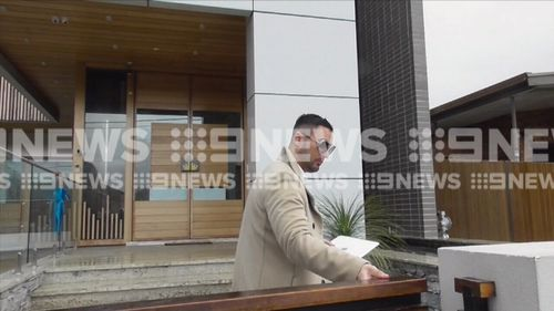 The raids come three months after Salim Mehajer was declared bankrupt. Picture: 9NEWS