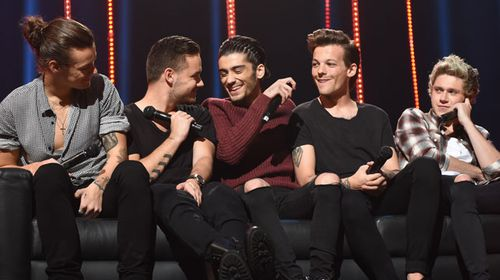 One Direction admits: 'We're just as insecure as other guys our age'