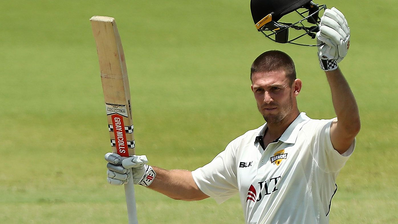 Mitch Marsh responds to criticism with outstanding Sheffield Shield century for WA