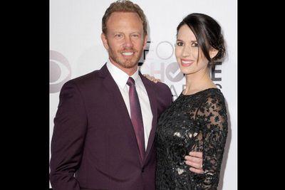 Ian Ziering and wife Erin Kristine Ludwig