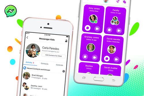 The kids FAcebook Messenger app claims to allow parents complete control over their children's privacy settings.