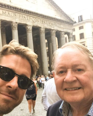Hugh Sheridan pays tribute to his late father Denis Sheridan on his birthday.