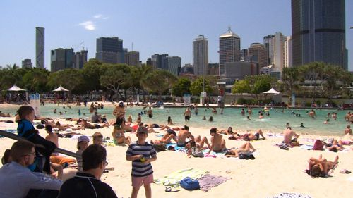 Brisbane residents are expected to flock to local waterways to beat the heat.