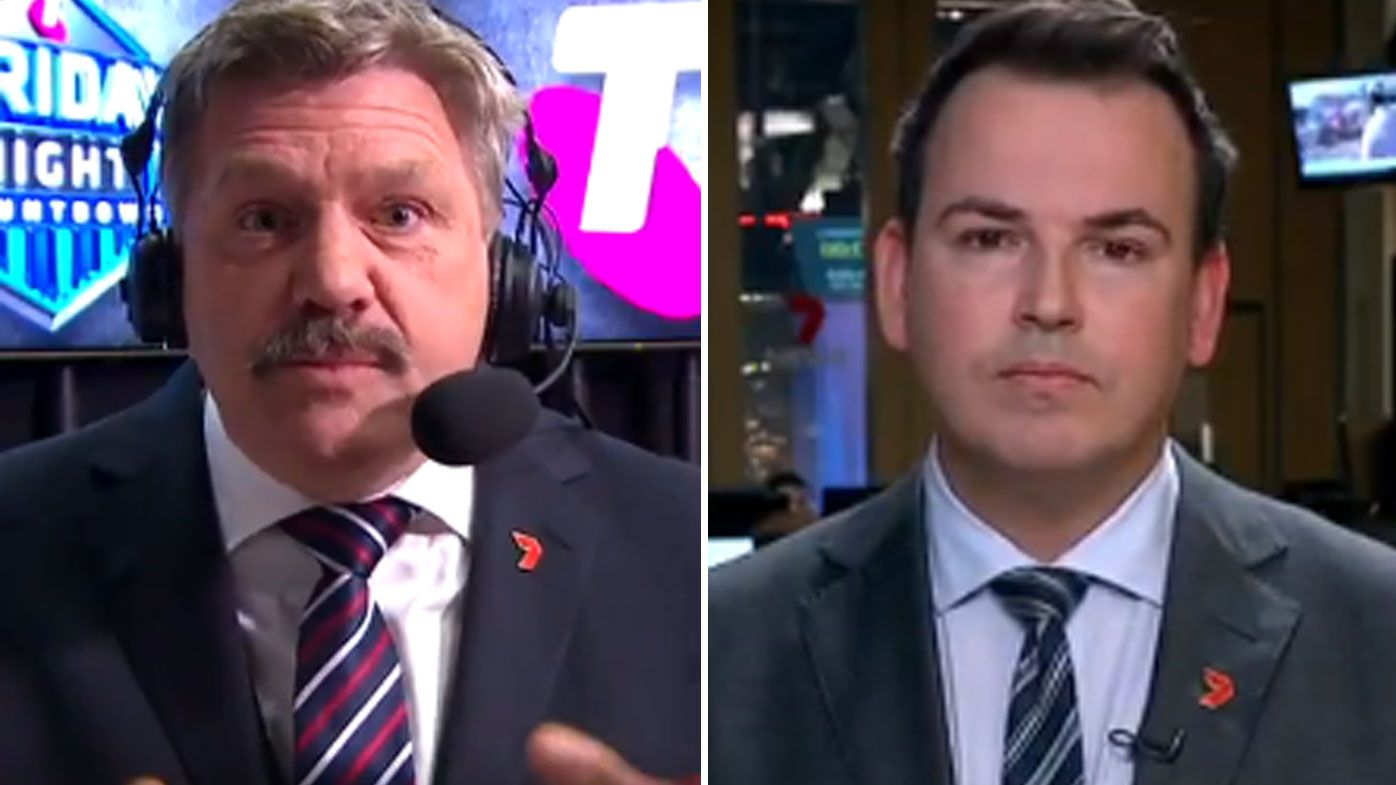 AFL great Brian Taylor grills reporter over coverage of Conor McKenna COVID-19 saga