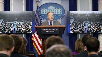 Sean Spicer. (AAP)
