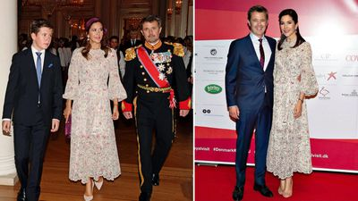 Princess Mary recycles a Zimmerman dress for Norwegian royal confirmation