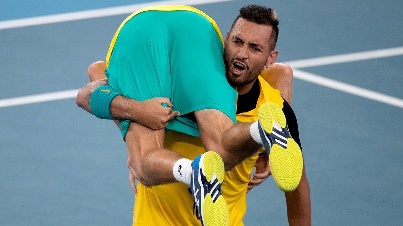 Australia through to ATP Cup semi-finals