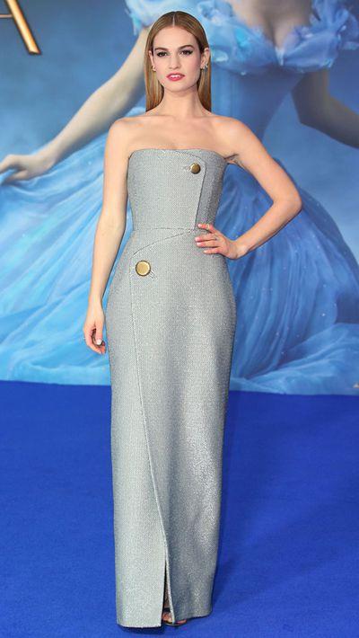 This chic Balenciaga dress makes for a modern look