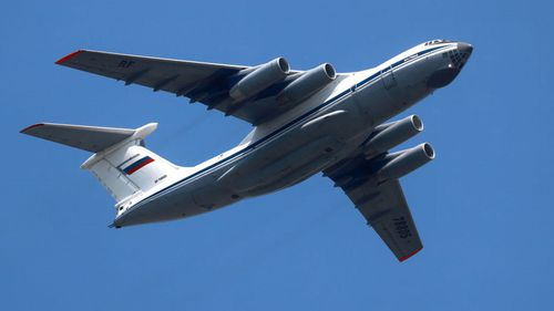"""Thieves have stolen documents from Russia's """"doomsday plane""""."""