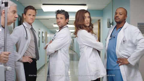 Kate Walsh appears in Cigna's TV Doctors of America ad