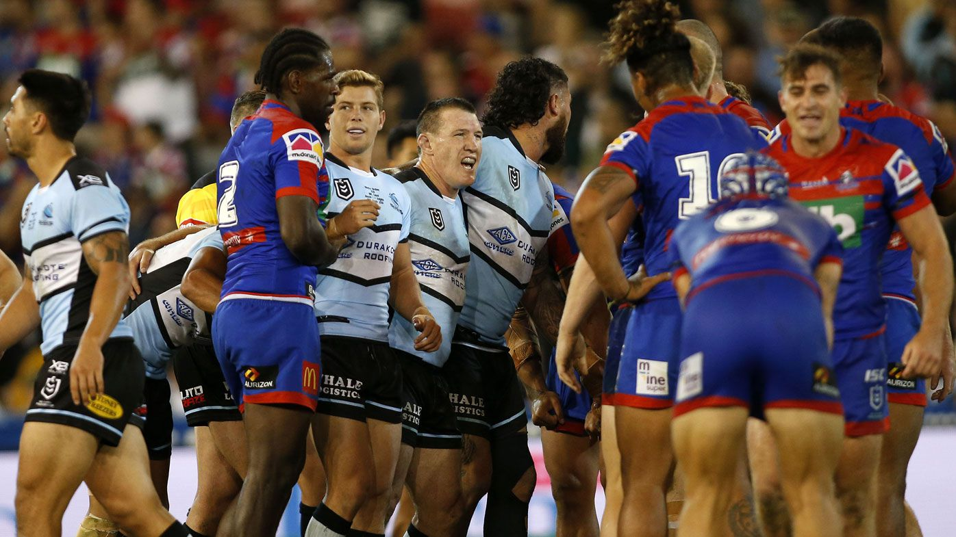 Sharks skipper Gallen compliments Knights after ruthless sledge