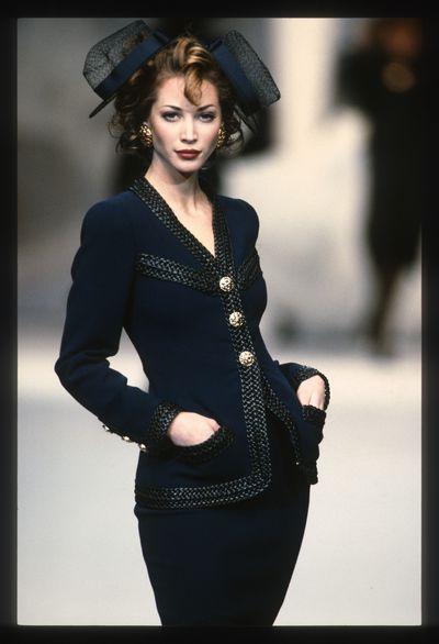 Christy Turlington, Chanel spring/summer '92/'93, Paris Fashion Week