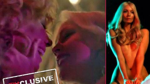 EXCLUSIVE! Ricki-Lee gets girl-on-girl action in music video teaser… and she's nude on a horse!