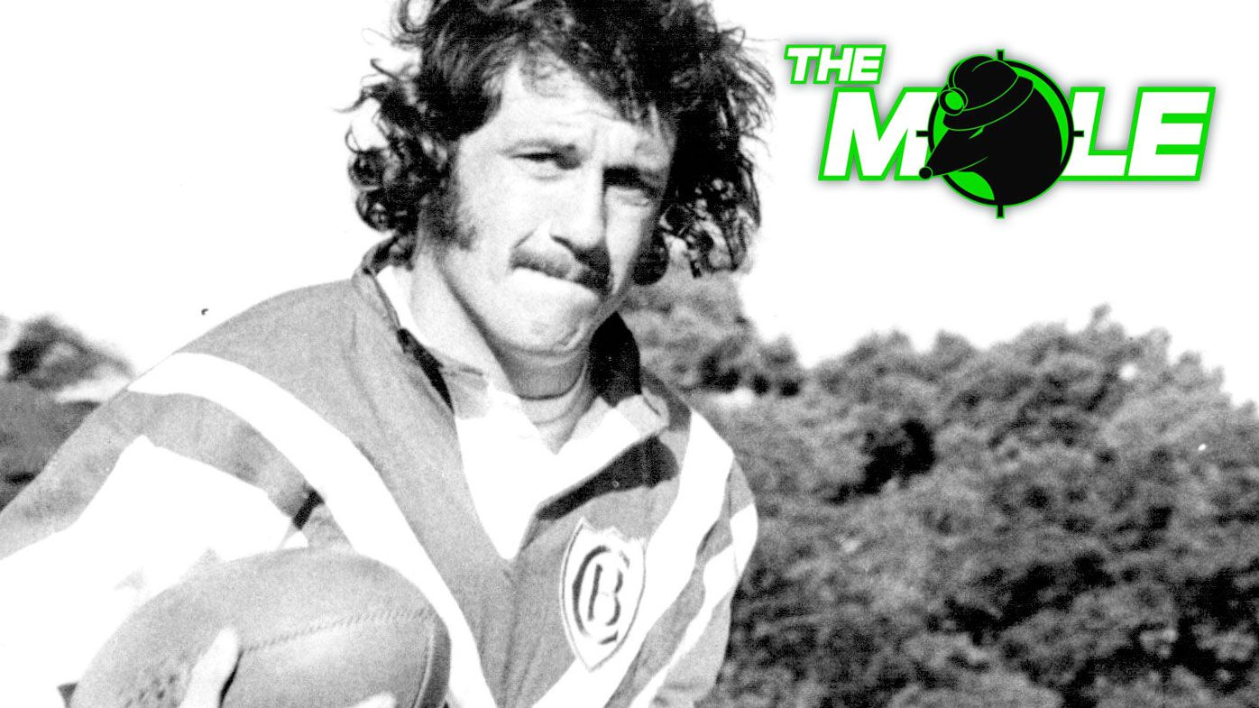 Tim Pickup, pictured in 1975, after switching from Norths to Canterbury.