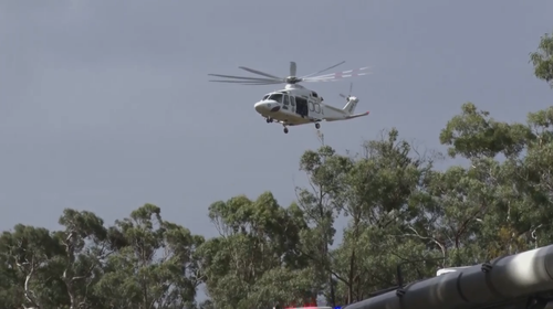 The six-year-old girl was airlifted to Westmead Children's Hospital in a critical condition.