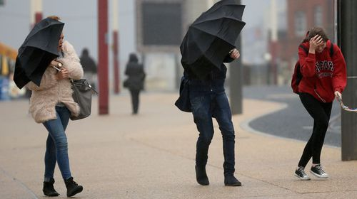 The Met Office has issued a yellow warning as the United Kingdom continues to feel the force of Hurricane Gonzalo. (Getty)